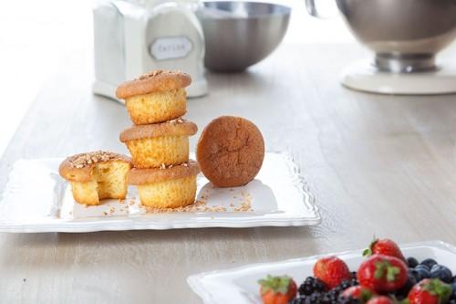 Maxi muffins de almendras. Repostería a domicilio My Candy Prince